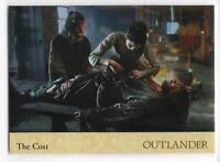 Outlander Season 2 (2017) RAINBOW FOIL BASE Card #54 / THE COST