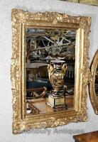 Victorian Gilt Mantle Mirror Glass Mirrors