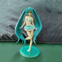 Blue Bikini Suit Hatsune Miku Swimsuit Ver. Action PVC Figure Anime Toy Bulk