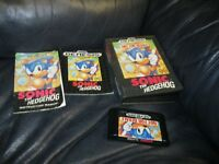 Sonic the Hedgehog Sega Genesis Game with Booklet