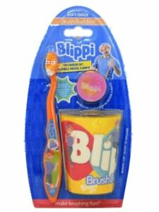Blippi Toothbrush Kit with Cup