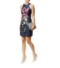 TED BAKER 'Theresa' floral sheath dress / sz 2 / AU 8 10 / NEAR NEW