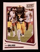 🏈2018 score KALEN BALLAGE (rookie) football card #372🏈 *Dolphins* *Arizona St*