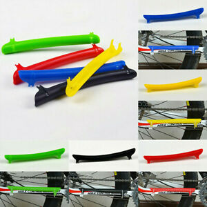 Mountain Bike Bicycle Chain Stay Fork Guard Plastic Protector Rear Frame Cover