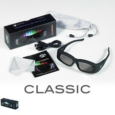 1 Pair Rechargeable 3D3 3D Active Shutter Glasses for Viewsonic DLP Projectors