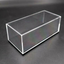 Acrylic Case Display Box Show Transparent Dust Proof with Base 1/64 Model Car