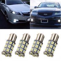 4x 1156 BA15S 5050 SMD 27 LED Car Tail Reverse Light Lamp Bulb White 6000K 12V