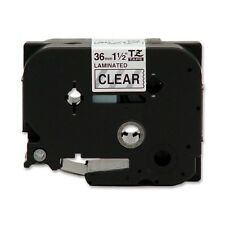 Brother P-Touch TZ 261 Tape Cartridge Black on Clear