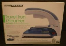 New Living Solutions Travel Iron / Steamer #520404 Compact Design Temp. Control