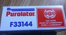 Fuel Filter Purolator F33144 Chevrolet corvette