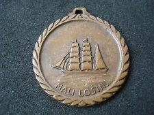 Yugoslavia, Croatia, Mali Losinj, International Sailing Cup 1973, medal, Bertoni