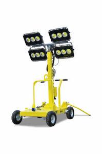 Lichtmast Baustellenbeleuchtung, Flutlichtanlage-Außenbeleuchtung