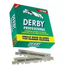 Derby Professional Premium |100 Single Edge Razor Blades | Pro Straight Edge😱😱