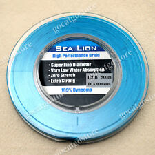 NEW Sea Lion 100% Dyneema Spectra Braid Fishing Line 500M 12lb Blue