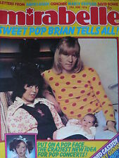 MIRABELLE MAGAZINE - 29TH JUNE 1974 - THE SWEET