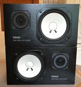 Yamaha NS-10M Pair Of Studio Monitors NS10