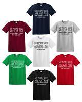 MY PEOPLE SKILLS T-Shirt Funny Joke Birthday Present Gift Sarcasm humour Tee Top