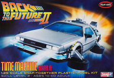 POLAR LIGHTS 1:25 MODEL KITS - BACK TO THE FUTURE PART II - TIME MACHINE MARK II