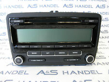 Original VW Volkswagen Autoradio 1K0035164 US USA CD AM FM Satellite Sirius SAT
