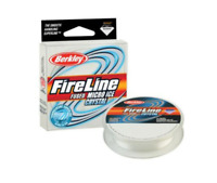 Berkley Fireline Micro Ice Fused  Crystal 4lb 50YD 0.13mm Fishing Line