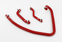 Silicone Crankcase Breather Hoses fits Land Rover Discovery 300TDI Stoney Red