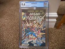 Jason Monarch 1 cgc 9.8 Omnibus Publishing 1979 1st issue NM MINT WHITE pgs RARE