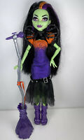 Mattel Monster High CASTA FIERCE Doll Witch Daughter of Circe Broom microphone