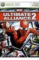 Marvel: Ultimate Alliance 2 XBOX 360 Kids Game Spider Man Avengers