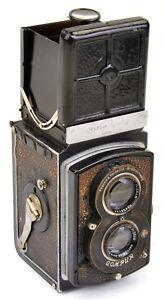 Rolleiflex II No.457092 (6x6cm) mit Tessar 1:3,5 f=7,5cm Carl Zeiss Jena Bj.1936