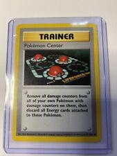 POKÉMON CENTER - Base Set - 85/102 - Uncommon - Pokemon Card - SHADOWLESS - EX