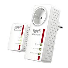 AVM FRITZ!Powerline 546E WLAN Set WiFi Steckdose LAN Ethernet dLAN Powerline