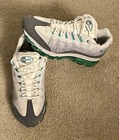 Nike Air Max 95 + Plus Turquoise/White/Grey Mens 9.5 2012 Mint Condition!