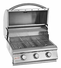 """25"""" BLAZE STAINLESS STEEL DROP IN/ BUILT IN BARBECUE BBQ OUTDOOR ISLAND GRILL"""