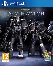 WARHAMMER 40,000 DEATHWATCH 40000 PS4 CASTELLANO ESPAÑOL NUEVO PRECINTADO PS4