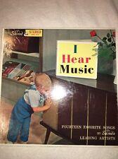 I HEAR MUSIC-FOURTEEN FAVORITE SONGS VARIOUS ARTISTS  LP RECORD SACRED GOSPEL