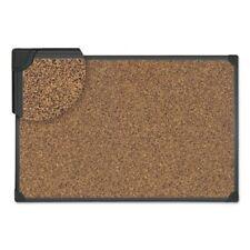 Universal Tech Cork Board, 48 x 36, Cork, Black Frame (UNV43023)