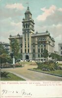 SAN FRANCISCO CA - Hall of Justice Wrecked by 1906 Earthquake and Fire - udb
