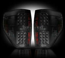2009-2014 Ford F150 & SVT Raptor Rear LED Rear Tail Lights Lamps Smoked Lenses