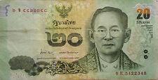 Thailand 20 Baht 6E 5422348