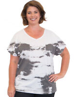 Plus Size Clothing 20 Monochrome Tee