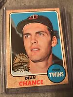 DEAN CHANCE 1968 Topps 50th Anniversary 2017 Buyback Stamped TWINS
