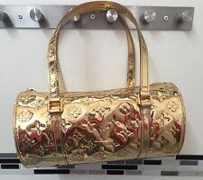 ⭐️100% AUTH⭐LOUIS VUITTON GOLD MONOGRAM MIRROR MIROIR PAPILLION BARREL BAG