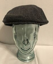 NWT Irish Hat  tweed cap flat vintage style Donegal Cabbie Cap Shandon 62cm