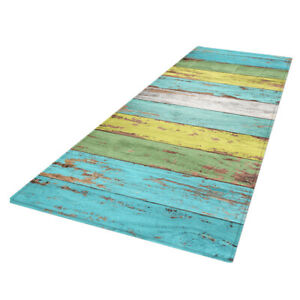 3D Colorful Floor Mat Non-skid Area Rugs for Bedroom Living Room Kitchen