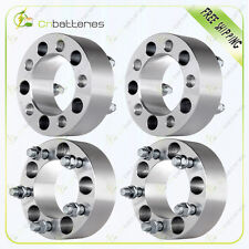 """4Pcs 2"""" 50mm  Wheel Spacers 5x4.5 1/2""""  For Jeep Wrangler Lincoln Mercury Ford"""
