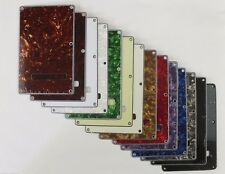 Rear TREM BACK PLATE COVER in 14 Colours to fit STRATOCASTER Strat guitars.
