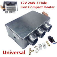 1X 12V 80W 3 Hole Portable Car Heating Cooling Compact Heater Defroster Demister
