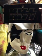 1996 KISS Paul Stanley Rubber Halloween Mask NWT over the face mint shape nos