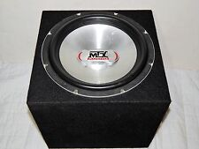 "MTX Subwoofer Audio 12"" Car Sub Bass Speaker 600 Watt Max MZS1204 (Thunder 5500)"