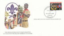 (14100) Benin FDC Card Scouts Cotonou 1982